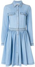 Moschino - denim skater dress - women - Cotton - 38, 42 - BLUE