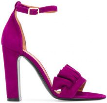 Via Roma 15 - Sandali - women - Leather/Suede - 37, 37.5, 40 - PINK & PURPLE