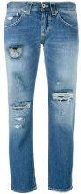 Dondup - 'Segolene' distressed jeans - women - Cotone - 28 - Blu
