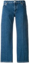 Balenciaga - Jeans 'Rockabilly' - women - Cotton - 40 - BLUE