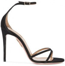 Aquazzura - Purist sandals - women - Acetate - 40, 37.5, 38, 39, 39.5, 41 - Nero