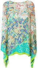 Etro - Blusa lunga - women - Viscose - 46 - Verde