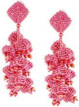 Sachin & Babi - Grapes earrings - women - glass - OS - PINK & PURPLE