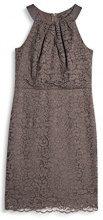 ESPRIT Collection 057EO1E028, Vestito Donna, Marrone (Taupe), 42