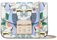 Furla - Metropolis Toucan crossbody bag - women - Calf Leather - One Size - BLUE