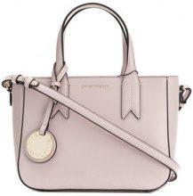 Emporio Armani - mini tote bag - women - Polyurethane - OS - PINK & PURPLE