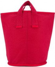 Cabas - medium Laundry tote - women - Cotton - OS - RED