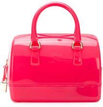 Furla - Borsa tote 'Candy' - women - PVC - One Size - PINK & PURPLE