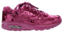 Sneakers scamosciate con elemento ad aria