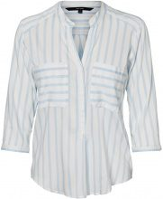 VERO MODA Striped 3/4 Sleeved Shirt Women White