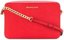Michael Michael Kors - Borsa a tracolla 'Jet Set' - women - Leather - OS - RED