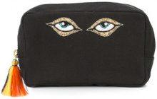 Figue - Global Eye bag - women - Cotton - OS - BLACK