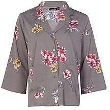 Grace Double Pocket Woven Shirt