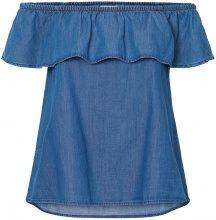 VERO MODA Off-shoulder Sleeveless Top Women Blue