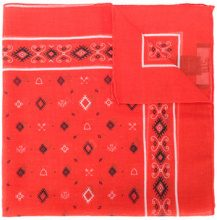 Htc Los Angeles - Bandana 'Swashy' - women - Cotton/Cashmere - OS - RED