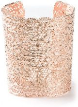 Aurelie Bidermann - 'Vintage Lace' cuff - women - Brass - OS - METALLIC