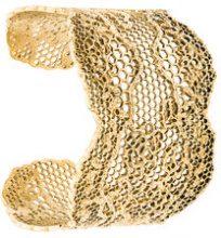 Aurelie Bidermann - Bracciale rigido - women - Gold Plated Brass - One Size - METALLIC