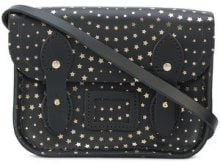 The Cambridge Satchel Company - studded crossbody bag - women - Leather - One Size - BLACK