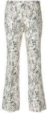 Giambattista Valli - Pantaloni - women - Cotton/Polyester/Acetate - 42, 46 - WHITE