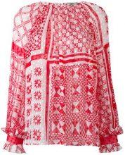 Fendi - Blusa - women - Silk/Viscose - 42, 40, 44 - RED