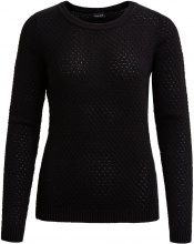 VILA Vishare - Knitted Pullover Women Black
