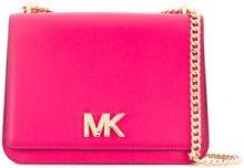 Michael Michael Kors - large chain shoulder bag - women - Leather - OS - PINK & PURPLE