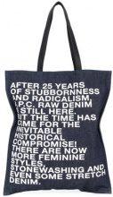 A.P.C. - Borsa Shopper 'Gael' - women - Cotone/Leather - OS - BLUE