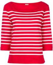 By Malene Birger - Felpa a righe - women - Cotton - XS, S, M, L - RED