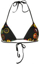 Dsquared2 - Top bikini con applicazioni - women - Polyamide/Spandex/Elastane - 38, 40, 42, 44 - BLACK