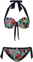 Bikini con ferretto (Nero) - bpc bonprix collection