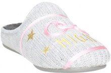 Pantofole Grunland  CI2233-38 Ciabatta Invernale Donna GRIGIO