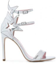 Karl Lagerfeld - Gala Supernova strap sandals - women - Leather/rubber - 36, 37, 38, 39, 41, 40 - METALLIC