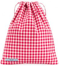Prada - check print tote bag - women - Cotton/Polyester - One Size - RED