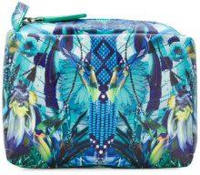 Camilla - boho print make-up bag - women - Polyurethane - OS - BLUE