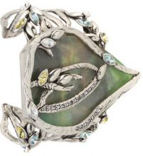 Camila Klein - resin cuff - women - Metal (Other) - OS - METALLIC