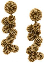 Sachin & Babi - Coconuts earrings - women - Other fibres - OS - METALLIC