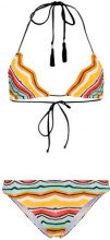 Missoni - Bikini con motivo a zigzag - women - Cotton/Polyester/Spandex/Elastane/Viscose - 40, 42, 38, 44, 46 - YELLOW & ORANGE