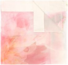 Faliero Sarti - Sciarpa con stampa a fiori - women - Silk - OS - PINK & PURPLE