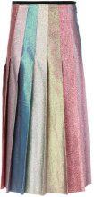 Gucci - Gonna a pieghe metallizzata - women - Polyester/Silk/Viscose/Cotone - 42, 46, 44 - Multicolore