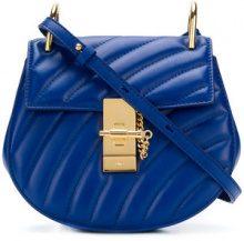 Chloé - Drew Bijou mini shoulder bag - women - Calf Leather - One Size - BLUE