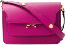 Marni - Trunk shoulder bag - women - Leather - One Size - PINK & PURPLE