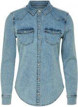 ONLY Detailed Denim Shirt Women Blue