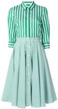 Peter Taylor - Chemisier a righe - women - Cotton - 42 - GREEN