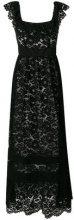 Twin-Set - Vestito lungo in pizzo - women - Cotton/Polyamide - 40, 42, 44 - BLACK