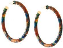 Gas Bijoux - Cerchi 'Caftan' - women - Acetate/24kt Gold Plate - OS - Multicolore