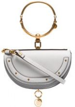 Chloé - Nile Minaudière bracelet bag - women - Leather - One Size - GREY