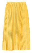 Fran Woven Polka Dot Pleated Midi Skirt