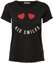 ONLY Printed T-shirt Women Black