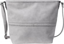 Borsa a tracolla con intrecci (Grigio) - bpc bonprix collection