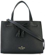 Kate Spade - tassel detail tote - women - Leather - OS - BLACK